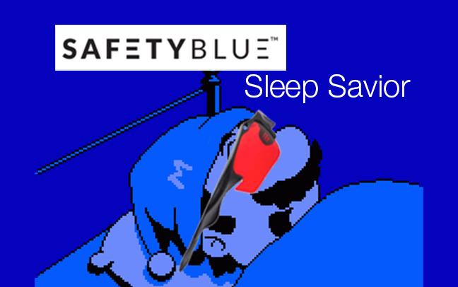 Safety Blue Sleep banner