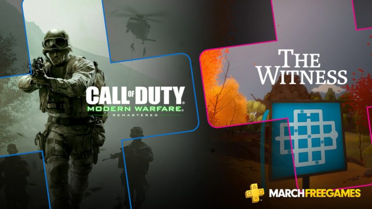 PS Plus March 2019 free