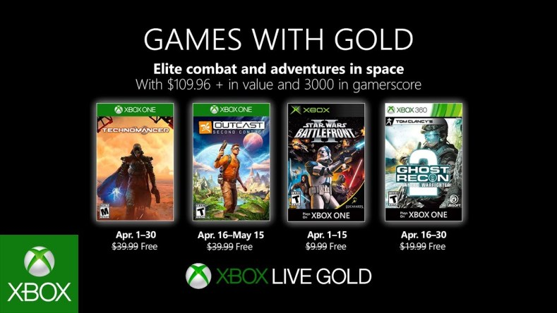 xbox live games with gold for april 2019 Xbox Live Games With Gold For April 2019 Xbox Live Games With Gold For April 2019