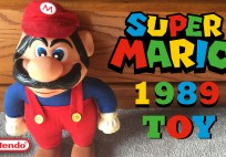 check out this super mario toy from 1989 Check out this Super Mario toy from 1989 Mario Title Card