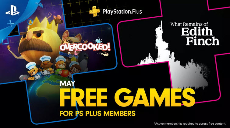 PS Plus Free Games May 2019