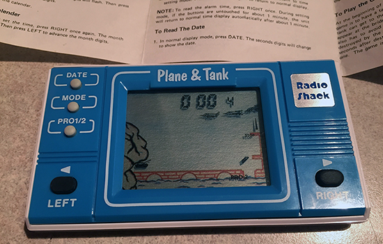 check out this radio shack lcd game plane & tank battle Check out this Radio Shack LCD game Plane & Tank Battle PlaneTankBattle RadioShack3