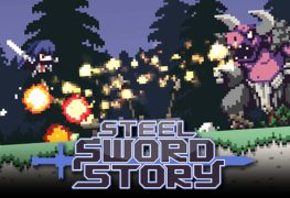 Steel Sword Story, a Pixel Game Maker game, now available Steel Sword Story 780x483