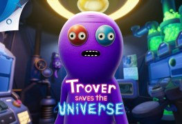 Trover Saves the Universe (PS4) Review Trover Saves the Universe