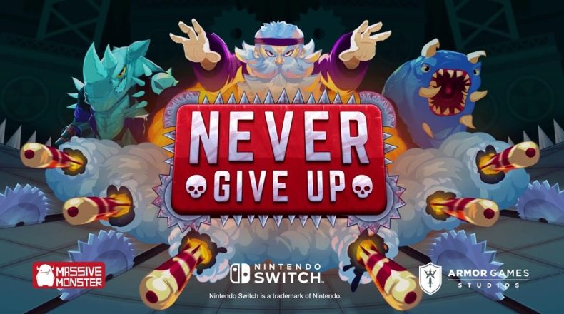 never give up is a brutal platformer coming to switch and pc in august Never Give Up is a brutal platformer coming to Switch and PC in August never give up 1152x642