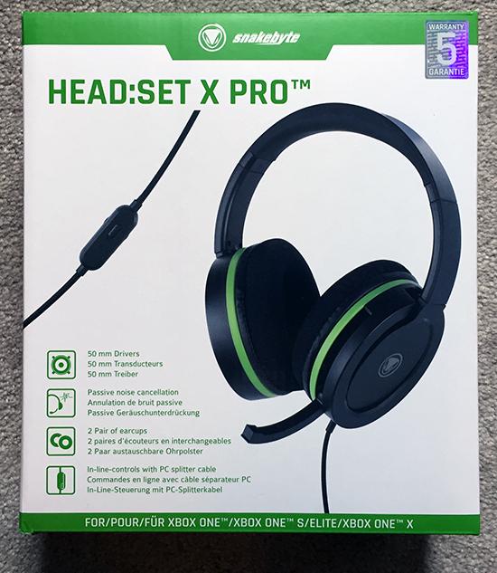 SnakeByte HeadSet X Pro