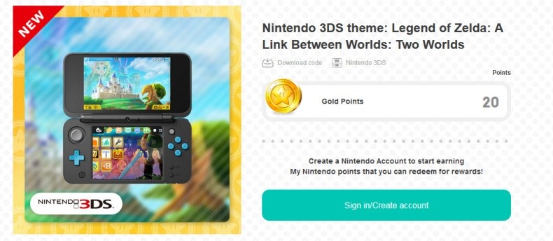 Nintendo 3DS Theme – Legend of Zelda: A Link Betw Worlds: Two Worlds walk through Link Betw Wo