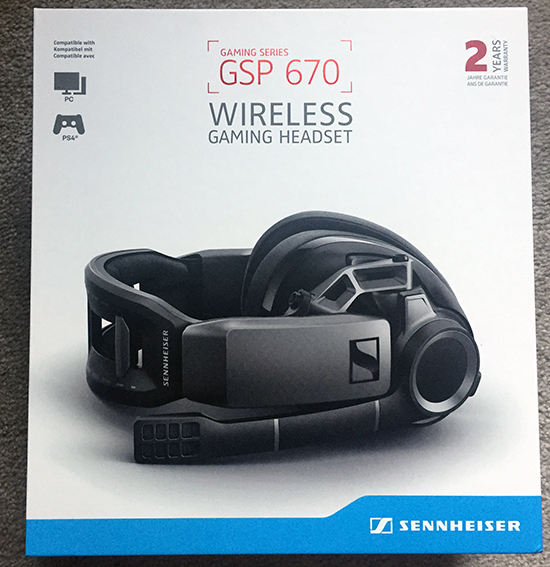 sennheiser gsp 670 (ps4) headset review Sennheiser GSP 670 (PS4) Headset Review Sennheiser GSP670 1 box