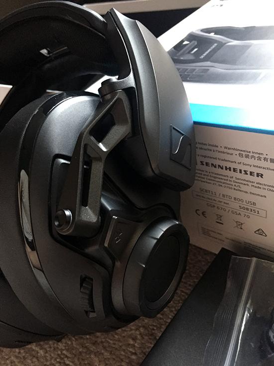 Sennheiser GSP670 7 ear control