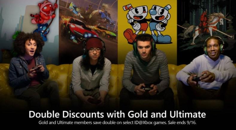 Xbox double discounts