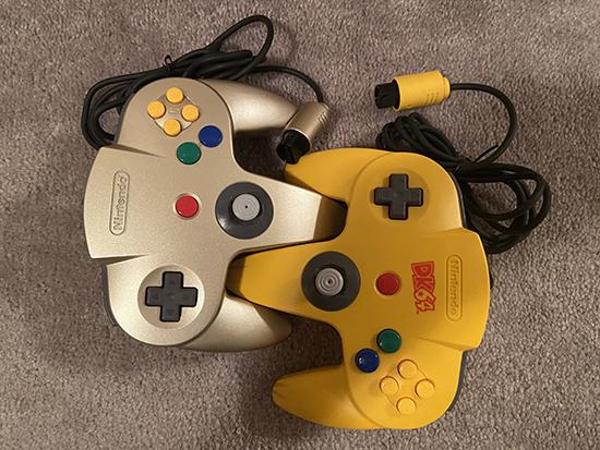 N64 Controls Scissor