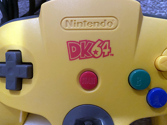 N64 DK64 Logo