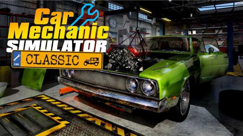 Car Mechanic Simulator Classic 01 press material