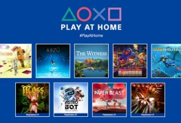 Playstation Play At Home March 2021