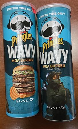 Pringles Moa Chips tubes