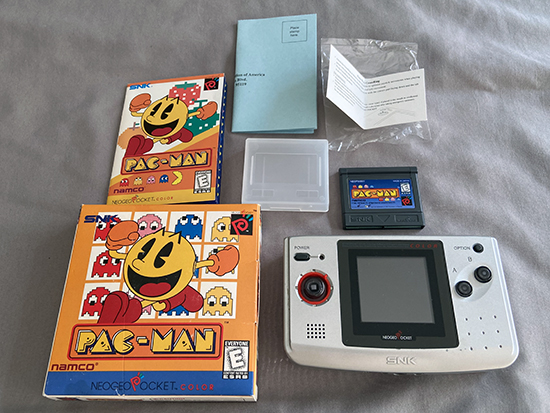NGPC Pacman All