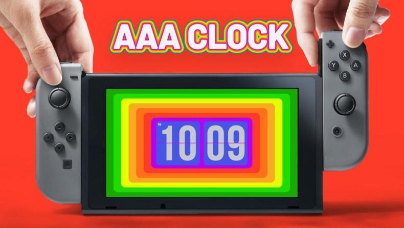AAA Clock