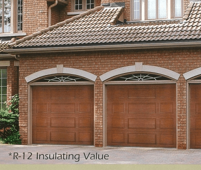 Garage Door Hampshire Steel With the look of Wood - Jolicoeur