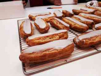 éclairs - cours pâtisserie - MyGatô - Lyon