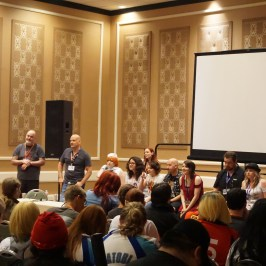 Main Voice Actor Panel at A-Kon 27