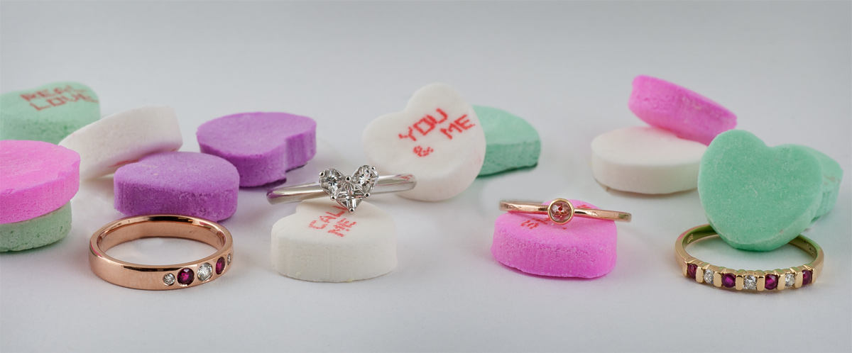 50 Off Valentines Day Gifts Heart Shaped Rings Rose