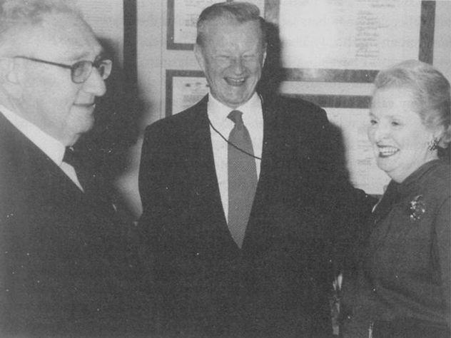 Kissinger Albright Brzezinski