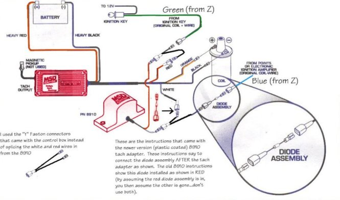 msd ignition wiring diagram wiring diagram msd 6al ignition module w rev control installation instructions