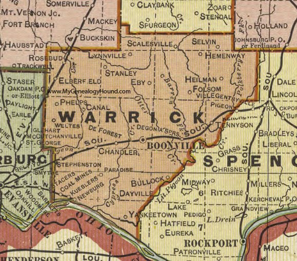 Full HD MAPS Locations - Another World » map of southern indiana map ...