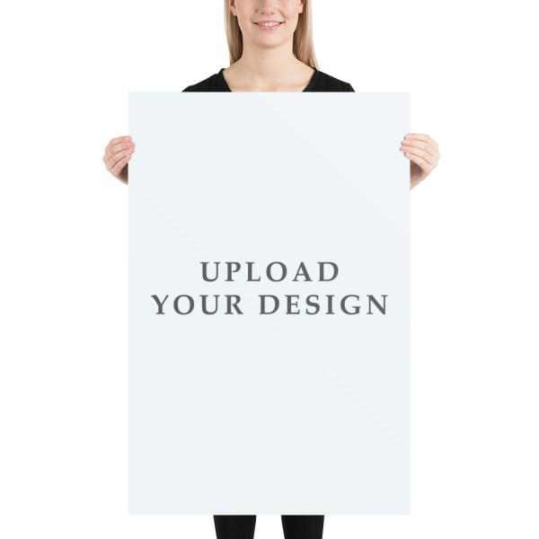 "Posters 12"" x 18"" Upload Design"