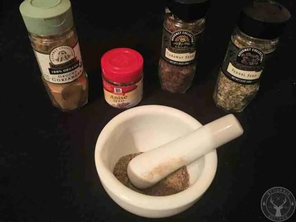 Bortgewuerz / bread spice