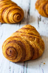 Flaky Cinnamon Rolls ('Franzbrötchen')