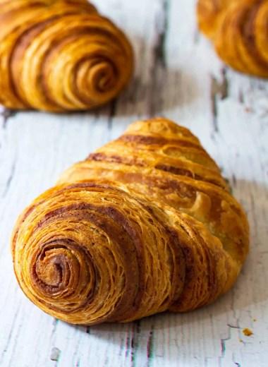 Franzbrötchen (Flaky Cinnamon Rolls)