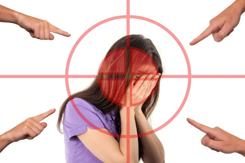 Blaiming a victim