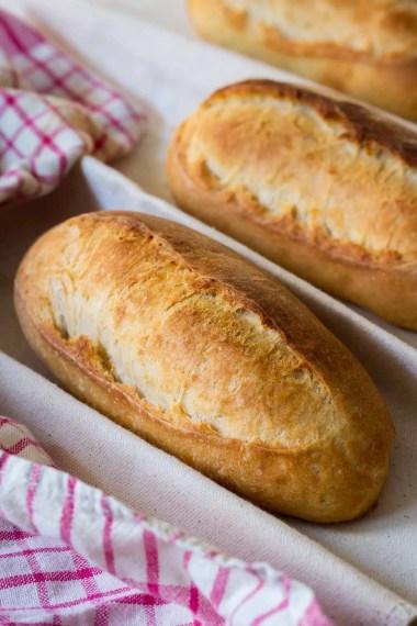 Sandwich Rolls/ Banh Mi/ Baguettebrötchen
