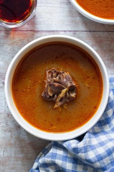 German Oxtail Soup (Ochsenschwanzsuppe)