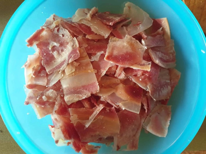 Boiled ox muzzle for ox muzzle salad