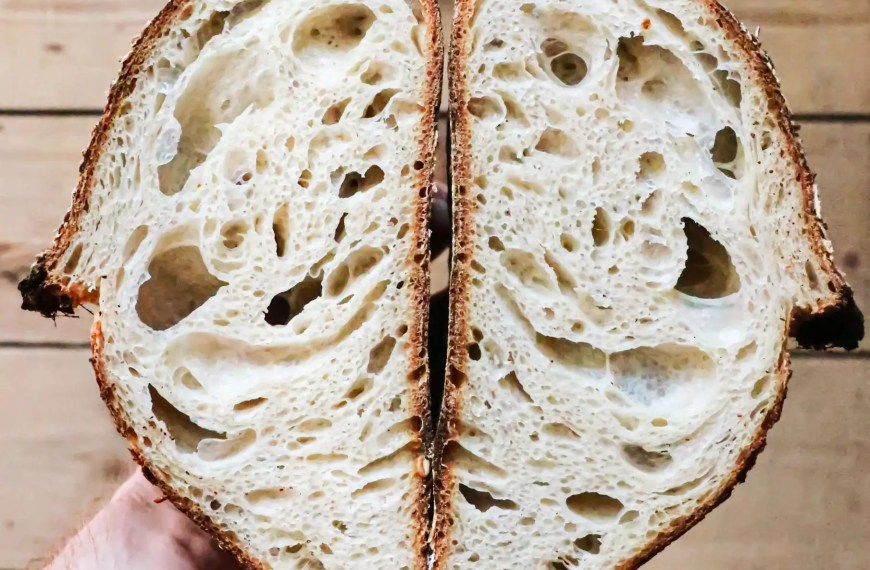 Why does bread have holes in it? (it's not the yeast)