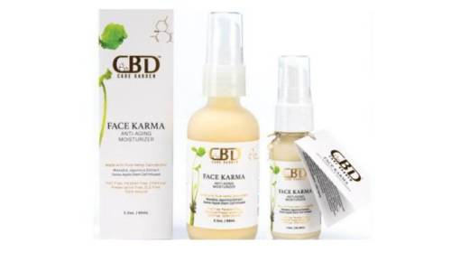 CBD Care - Garden Face Karma Anti-Aging Face Cream