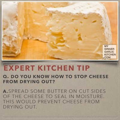 Do You Know How To Stop Cheese From Drying Out [Kitchen-Tips]