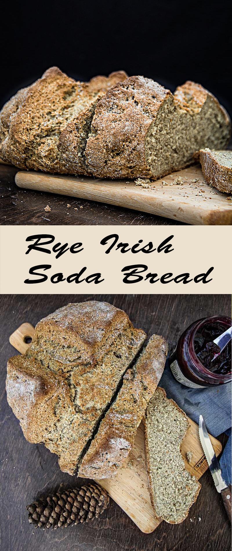 Rye Irish Soda Bread | mygingergarlickitchen.com/ @anupama_dreams