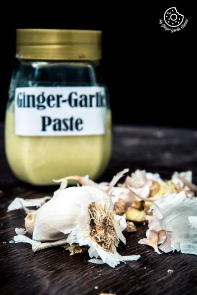 Homemade Ginger Garlic Paste | How to Make Ginger Garlic Paste | Video Recipe