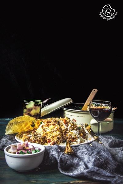 Vegetable Biryani Recipe | Restaurant Style Hyderabadi Veg Dum Biryani Recipe