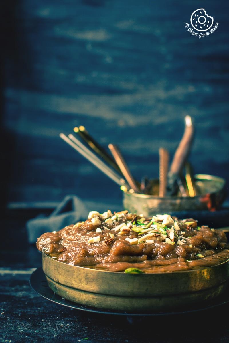 How To Make Aate Ka Halwa | Atte Ka Halwa Recipe | mygingergarlickitchen.com/ @anupama_dreams