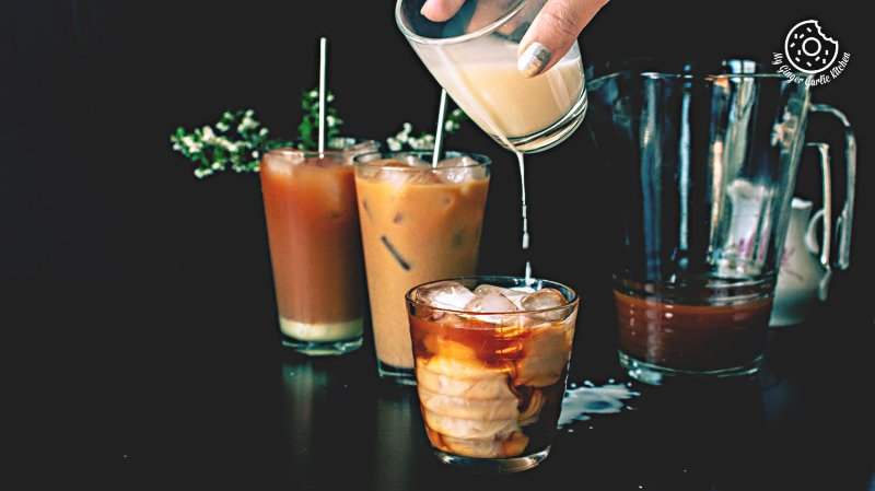 Thai Iced Tea Recipe | mygingergarlickitchen.com/ @anupama_dreams