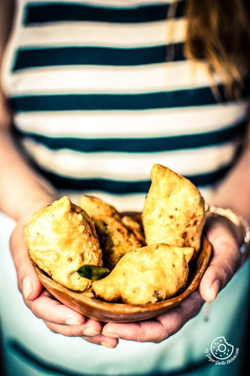 Best Samosa Recipe   Indian Punjabi Samosa Recipe   mygingergarlickitchen.com/ @anupama_dreams