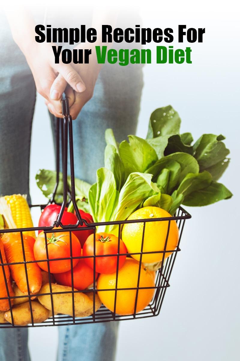 Simple Recipes For Your Vegan Diet | mygingergarlickitchen.com/ @anupama_dreams