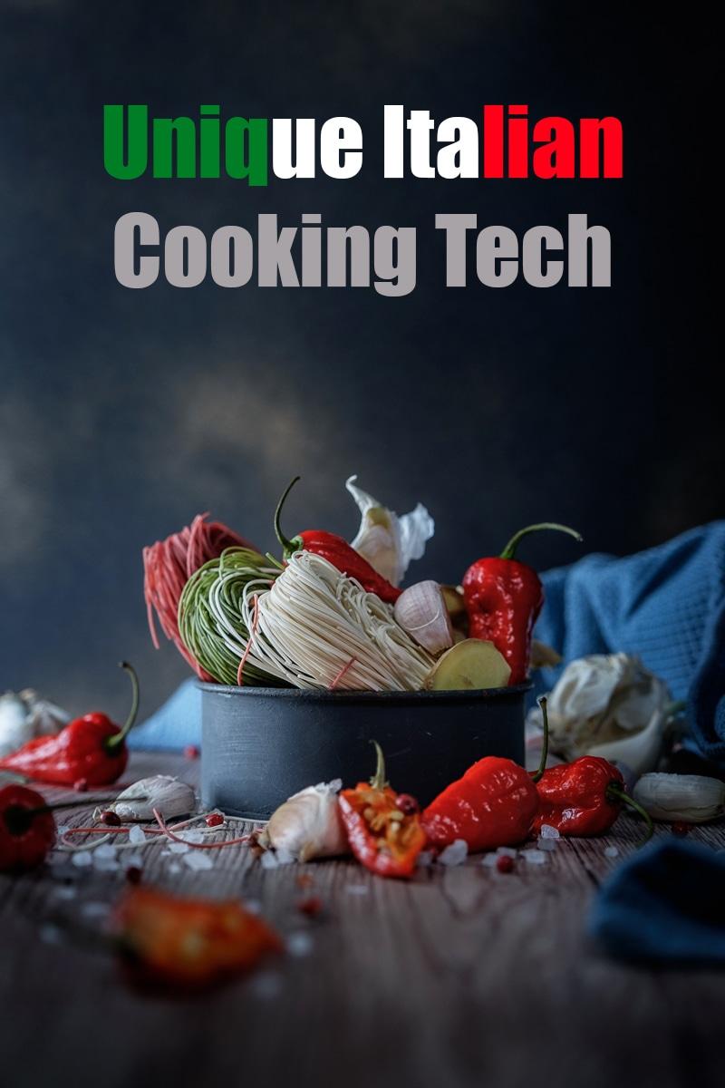 Unique Italian Cooking Tech | mygingergarlickitchen.com/ @anupama_dreams