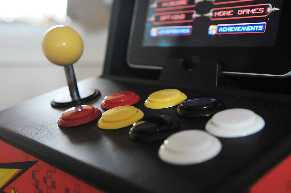 how to mod an iCade's stick and buttons • my glass eye