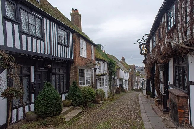 Mermaid Street in Rye is one of the most Instagrammable places in the UK