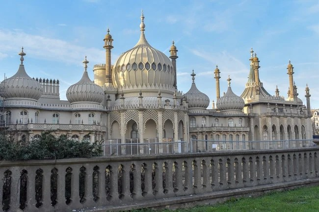 Royal Pavilion in Brighton is one of the most Instagrammable places in the UK